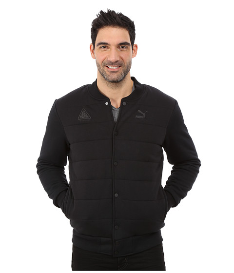 PUMA - Padded Bomber Jacket (Black) Men