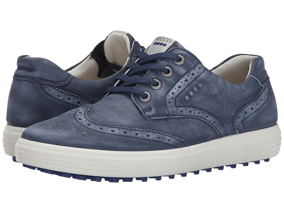 ECCO Golf Casual Hybrid Wingtip (True Navy) Women
