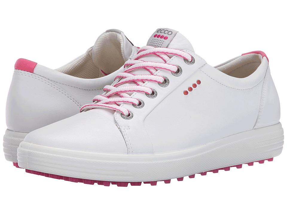 ECCO Golf Casual Hybrid (White) Women