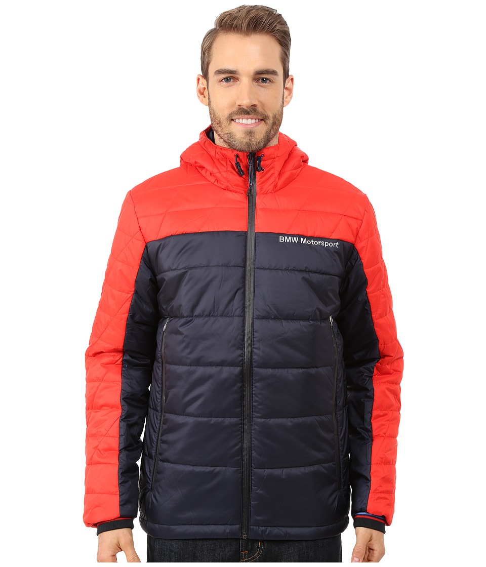 PUMA - Bmw Msp Padded Jacket (High Risk Red) Men's Jacket