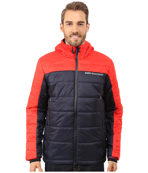 PUMA - Bmw Msp Padded Jacket (High Risk Red) Men