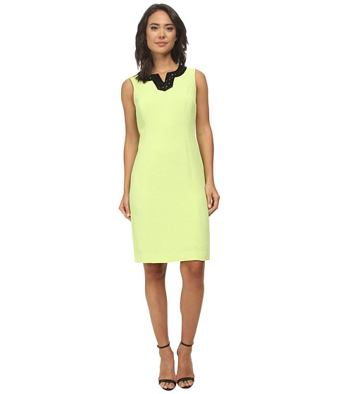 Jones New York - Sheath Dress (Lime) Women