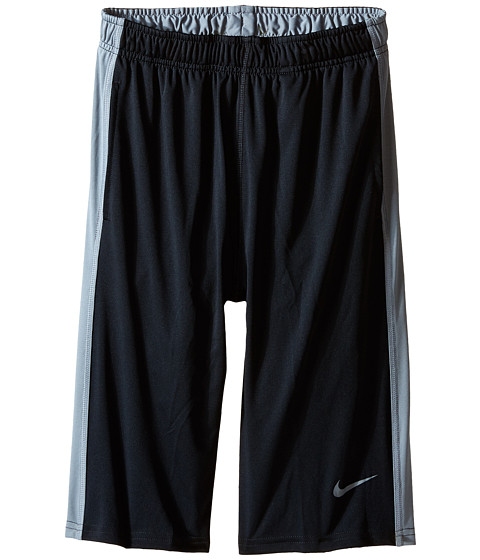 Nike Kids - Fly Short (Little Kids/Big Kids) (Black/Cool Grey/Cool Grey) Boy's Shorts