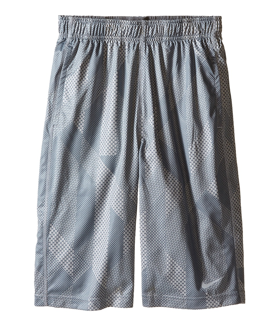 Nike Kids - Fly GFXL Shorts (Little Kids/Big Kids) (Wolf Grey/Wolf Grey/Cool Grey/Wolf Grey) Boy's Shorts
