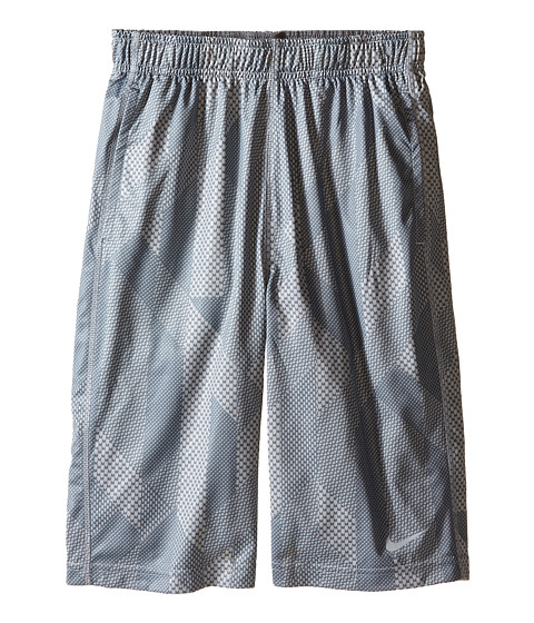 Nike Kids - Fly GFXL Shorts (Little Kids/Big Kids) (Wolf Grey/Wolf Grey/Cool Grey/Wolf Grey) Boy