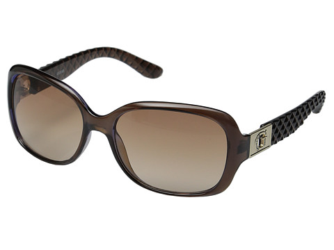 GUESS - GUF 247 (Brown/Brown Gradient) Fashion Sunglasses