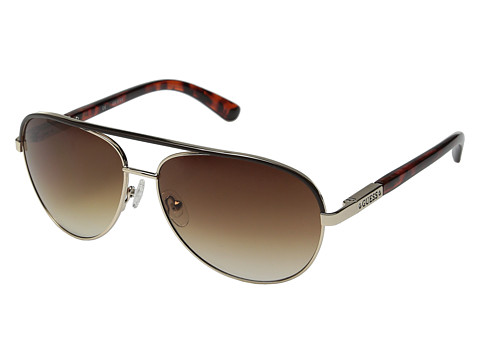GUESS - GUF 224 (Gold/Brown Gradient) Fashion Sunglasses