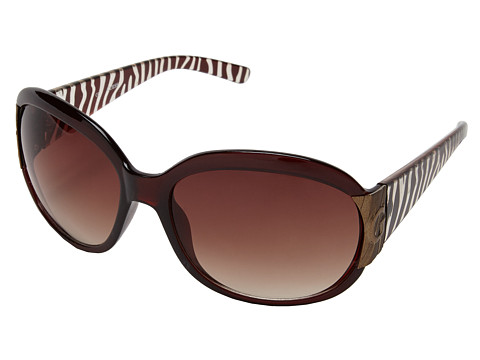 GUESS - GU 7002 (Brown/Brown Gradient) Fashion Sunglasses