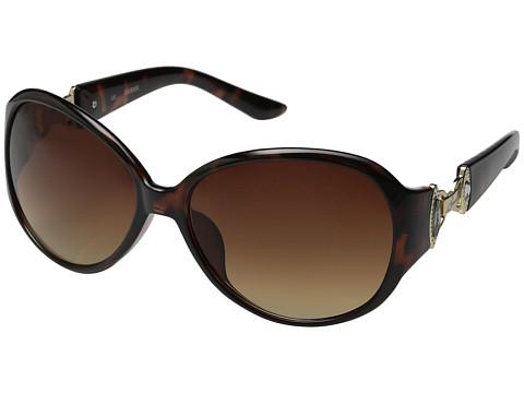 GUESS - GUF 225 (Tortoise/Brown Gradient) Fashion Sunglasses