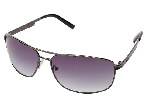 GUESS - GUF 117 (Gunmetal/Grey Gradient) Fashion Sunglasses