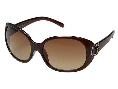 GUESS - GUF 229 (Brown/Brown Gradient) Fashion Sunglasses