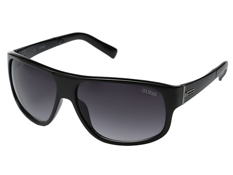 GUESS - GUF 130 (Black/Grey Gradient) Fashion Sunglasses