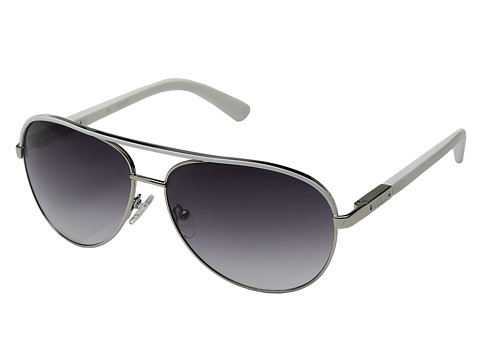 GUESS - GUF 224 (Silver/Grey Gradient) Fashion Sunglasses
