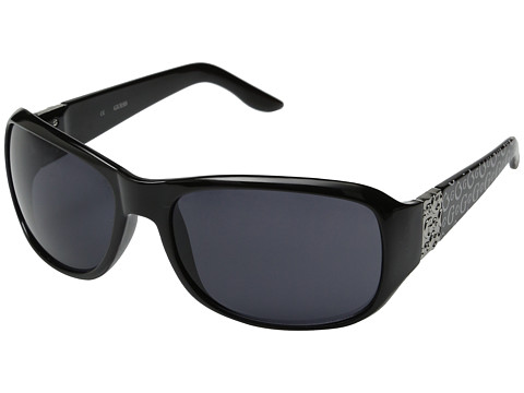 GUESS - GU 6395 (Black/Grey) Fashion Sunglasses