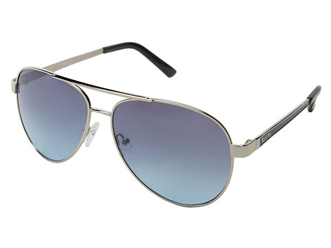GUESS - GUF 113 (Silver/Grey To Blue Gradient) Fashion Sunglasses