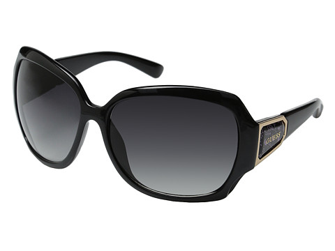 GUESS - GUF 217 (Black/Grey Gradient) Fashion Sunglasses