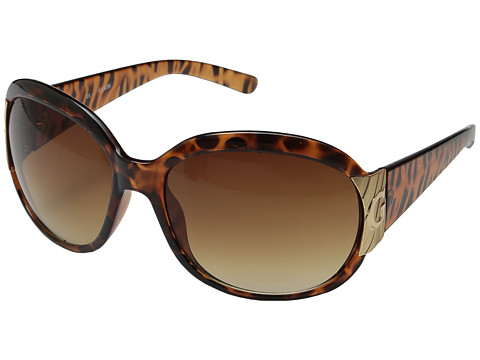 GUESS - GU 7002 (Tortoise/Brown Gradient) Fashion Sunglasses