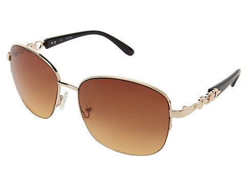 GUESS - GUF 236 (Gold/Brown Gradient) Fashion Sunglasses