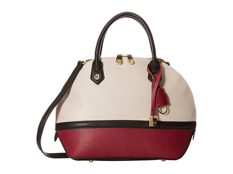 Emma Fox - Jaca Dome Satchel (Stone Multi) Satchel Handbags