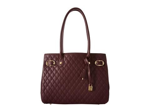 Emma Fox - Windham Quilt Tote (Syrah) Tote Handbags