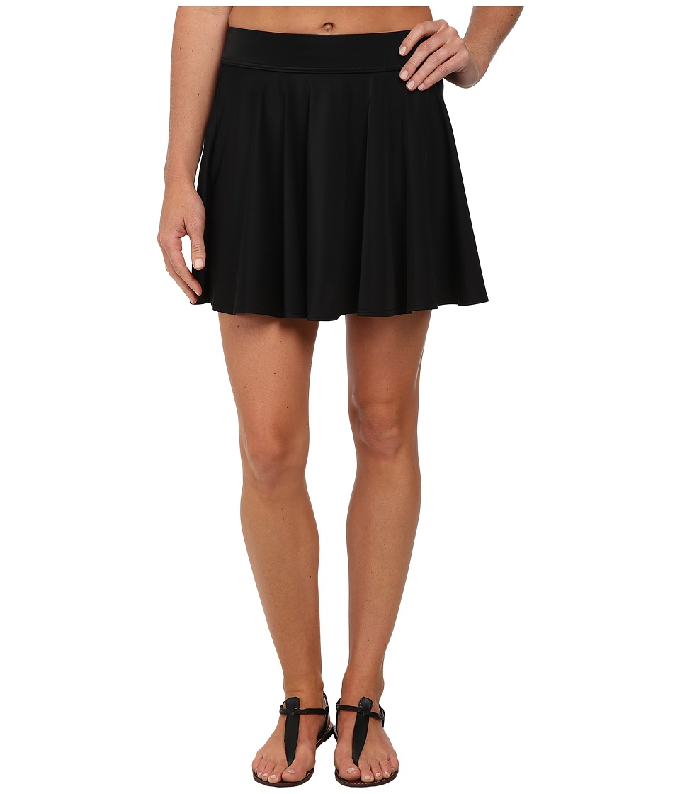 DKNY - Skirt Cover-Up (Black) Women
