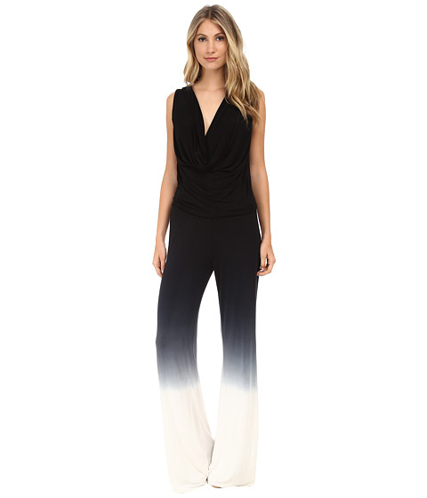 Young Fabulous & Broke - Lisle Jumpsuit (Black Ombre) Women's Jumpsuit & Rompers One Piece