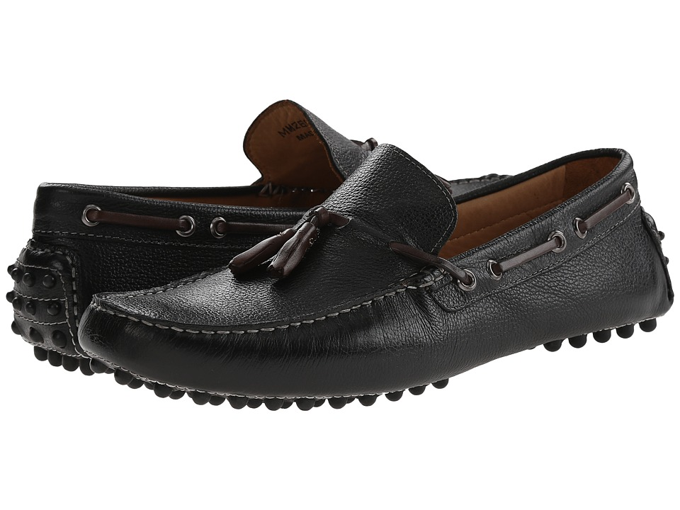 Massimo Matteo - Tassel Driver (Black) Men's Slip on Shoes