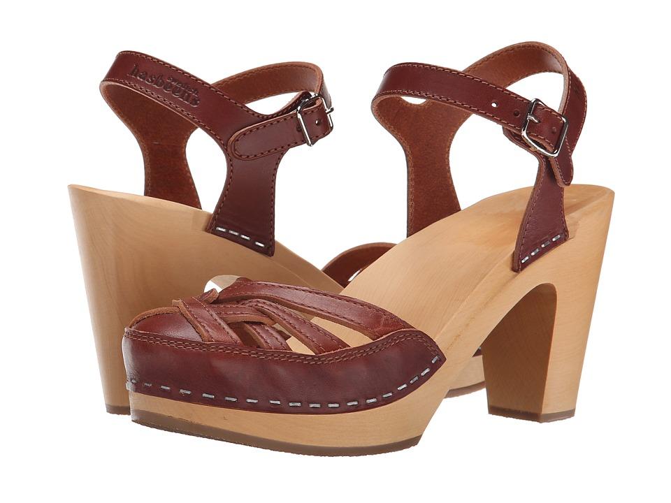 Swedish Hasbeens - Agneta (Cognac) High Heels