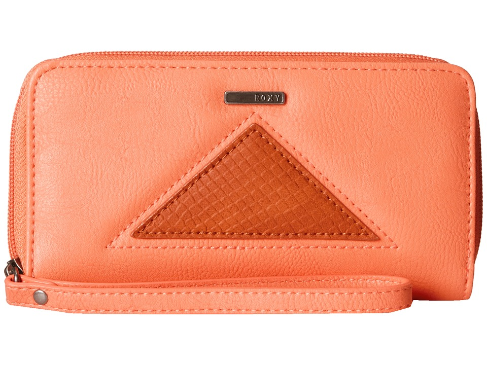 Roxy - Tides Wallet (Melon) Wallet Handbags