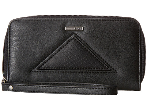 Roxy - Tides Wallet (True Black) Wallet Handbags