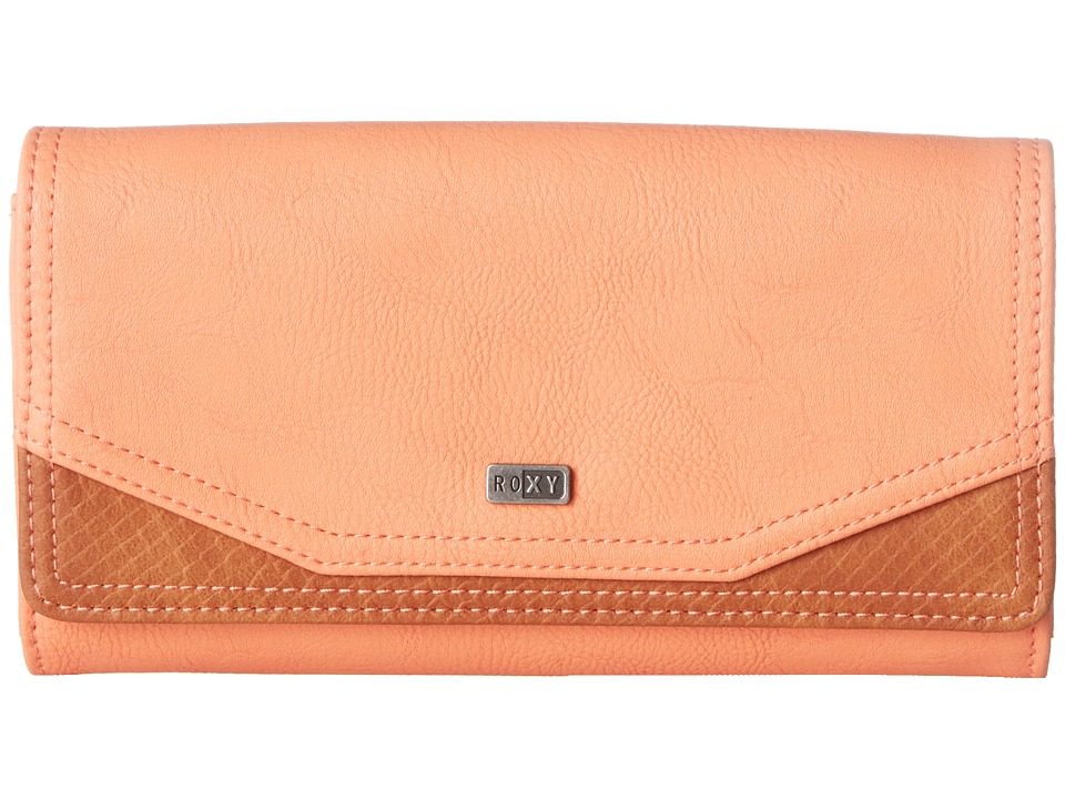 Roxy - Lean Back Wallet (Melon) Wallet Handbags