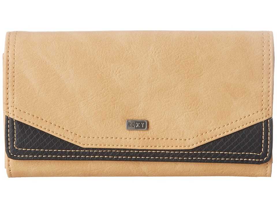 Roxy - Lean Back Wallet (Taos Taupe) Wallet Handbags