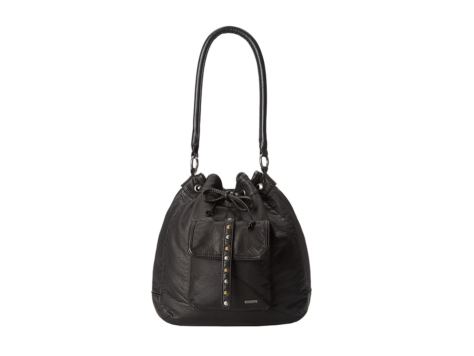 Roxy - Double Trouble Messenger/Shoulder (True Black) Shoulder Handbags