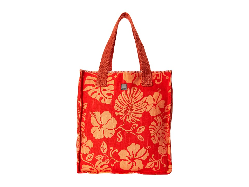 Roxy - Rocksteady Tote Bag (Fiery Orange) Shoulder Handbags