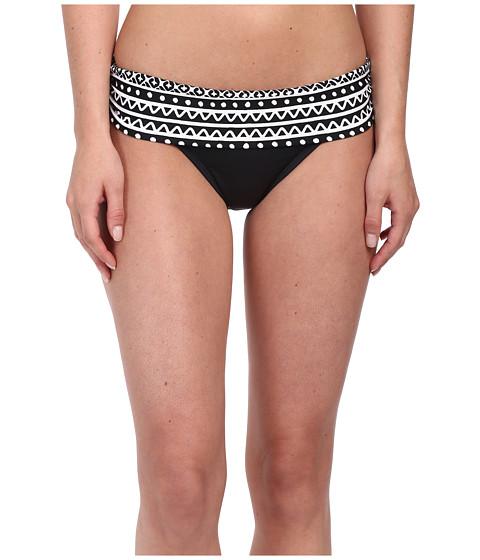 La Blanca - Alejandro Hipster (Black/White) Women's Swimwear