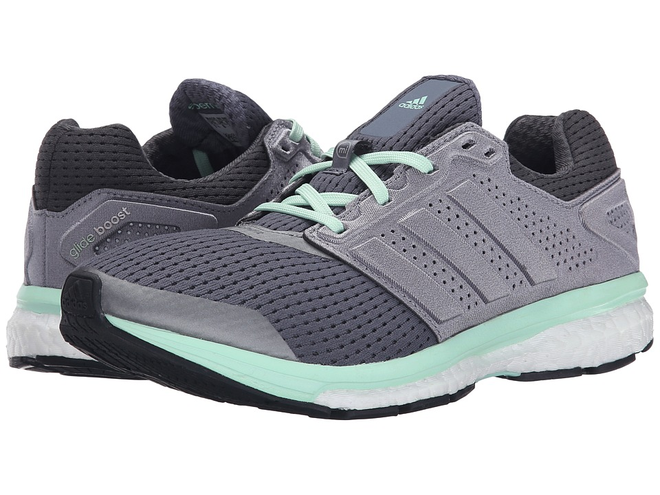 adidas Running - Supernova Glide Boost 7 (Onix/Iron/Green) Women's Shoes