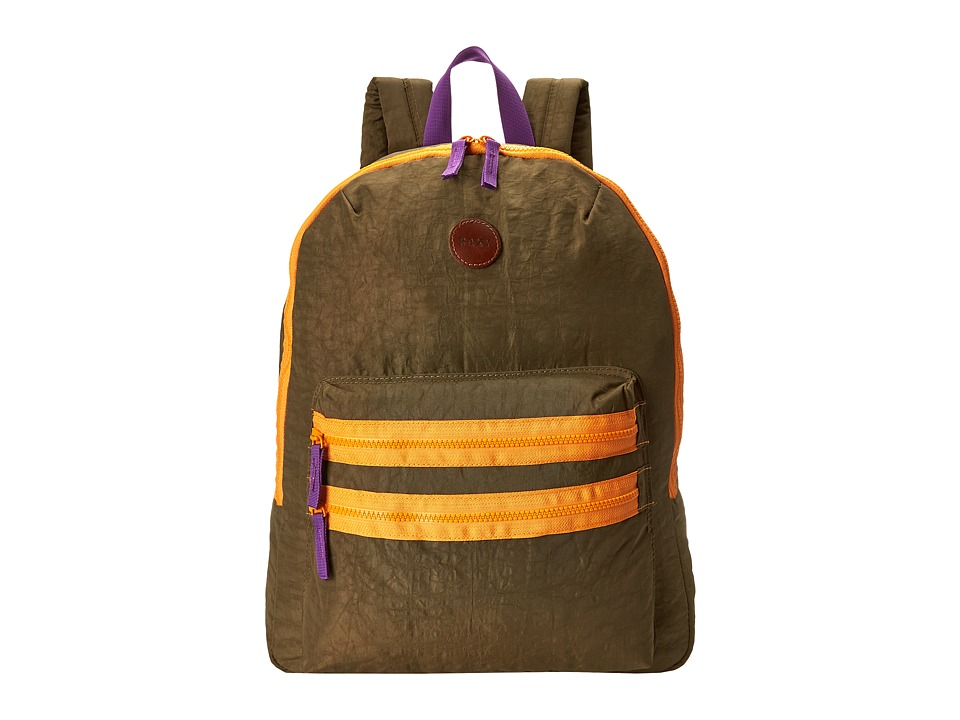 Roxy - Discovery Backpack (Military Olive) Backpack Bags