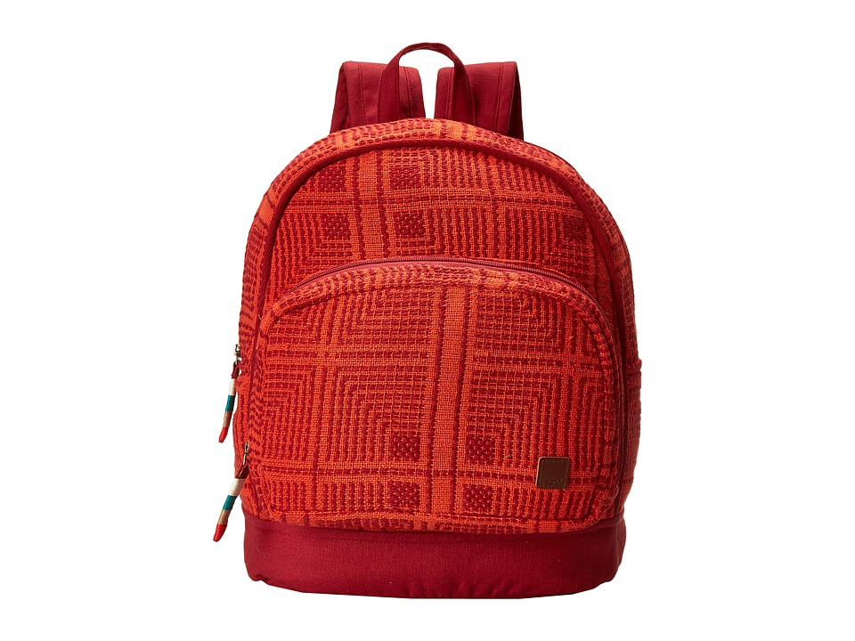 Roxy - Monsoon Backpack (Redwood) Backpack Bags