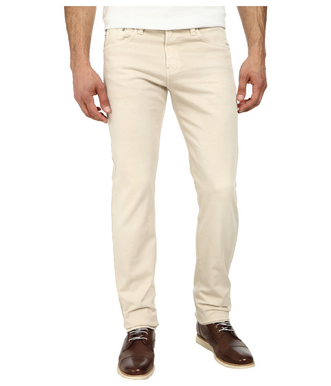 AG Adriano Goldschmied - Nomad Modern Slim Leg Denim in Sulfur Pale Sand (Sulfur Pale Sand) Men's Jeans