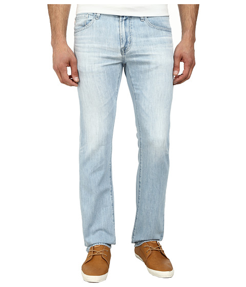 AG Adriano Goldschmied - Matchbox Slim Straight Leg Denim in 23 Years Baracuda (23 Years Baracuda) Men's Jeans