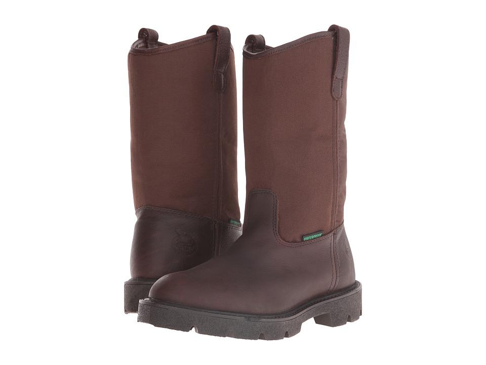 Georgia Boot Homeland 10 Wellington Waterproof (Brown) Men