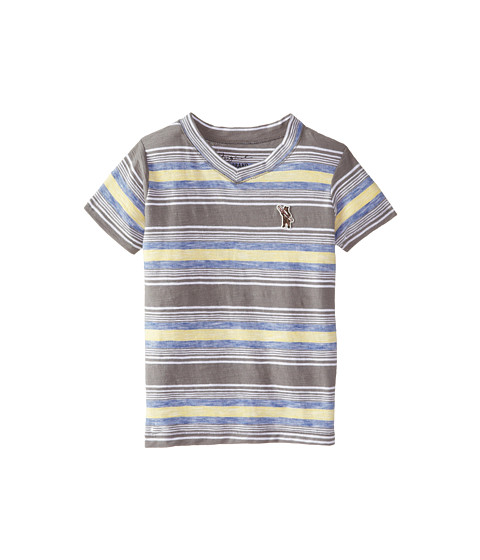 Lucky Brand Kids - The Hills V-Neck Tee (Little Kids/Big Kids) (Charcoal) Boy
