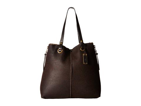 UGG - Seldon Sheepskin Tote (Chocolate) Tote Handbags
