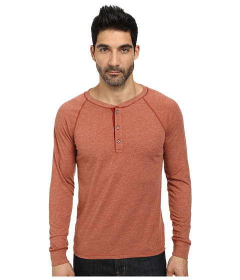 AG Adriano Goldschmied - Commute Rag Henley (Kiln) Men