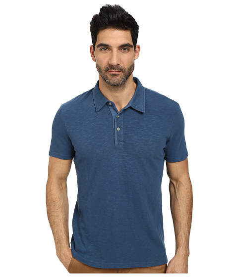 AG Adriano Goldschmied - Rhodes Polo (Gaze Teal) Men's Clothing