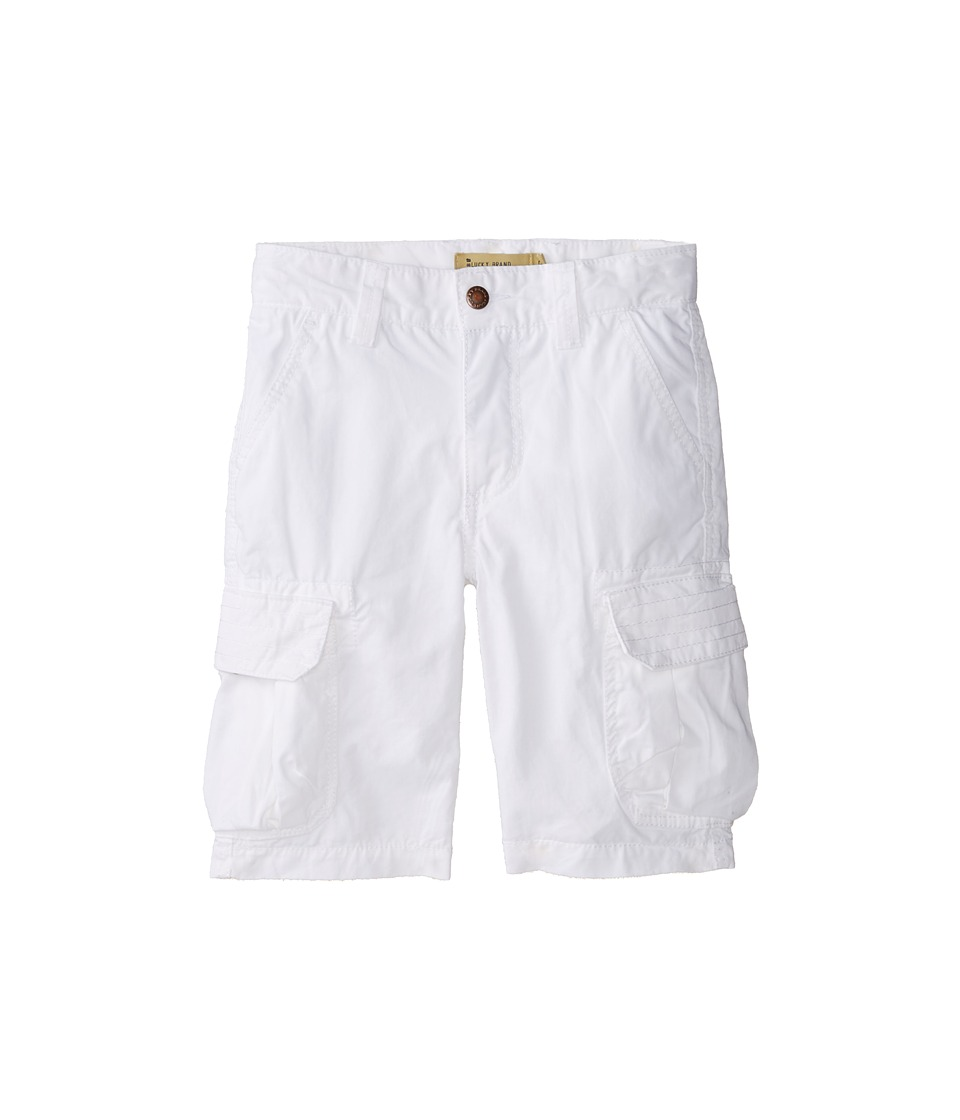 Lucky Brand Kids - Cabrillo Cargo Short (Little Kids/Big Kids) (White) Boy's Shorts