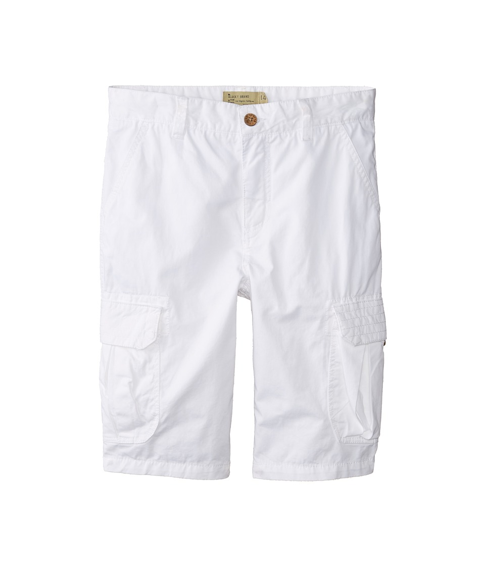 Lucky Brand Kids - Cabrillo Cargo Short (Big Kids) (White) Boy's Shorts
