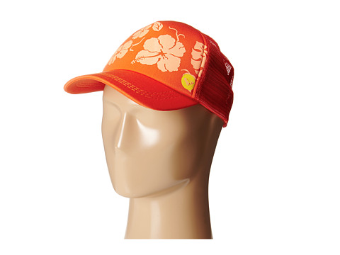 Roxy - Truckin Hat (Fiery Orange) Caps