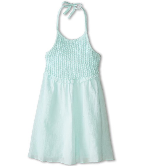 Lucky Brand Kids - Bonnie Crochet Lace (Little Kids) (Soothing Sea) Girl