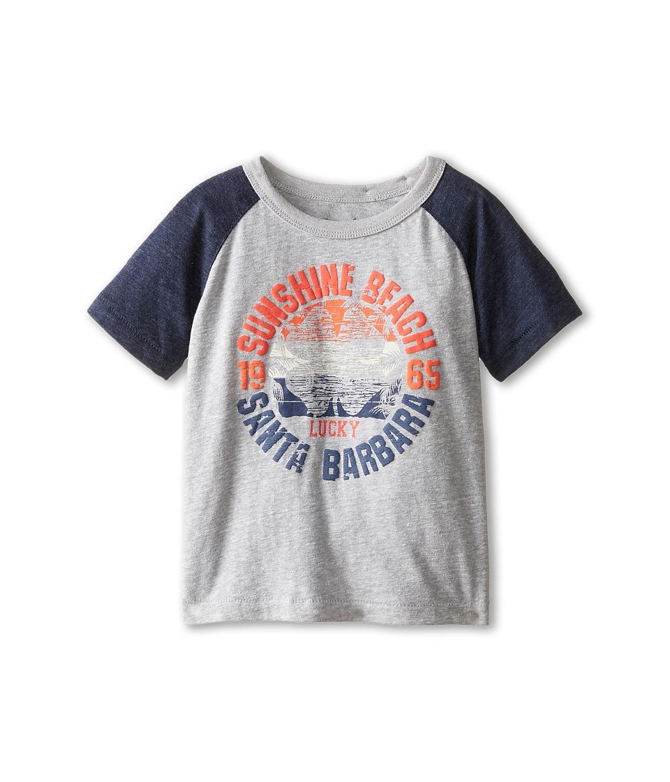 Lucky Brand Kids - Wood Beach Tee (Toddler) (Heather Light) Boy